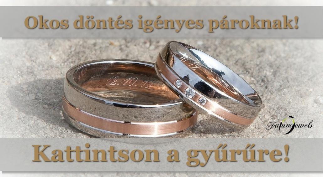 Fatumjewels karikagyűrű