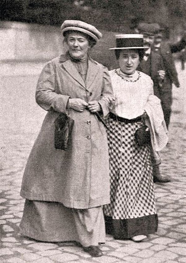 Clara Zetkin és Rosa Luxemburg