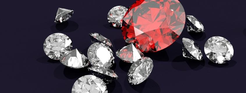 Az eljegyzési gyűrű drágaköve a gyémánt