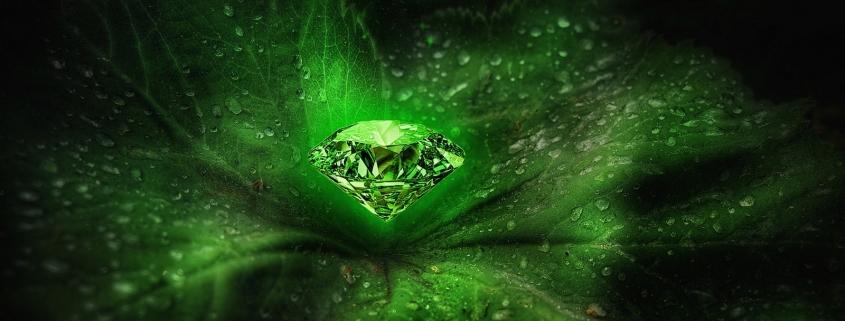 Mérleg drágaköve a smaragd