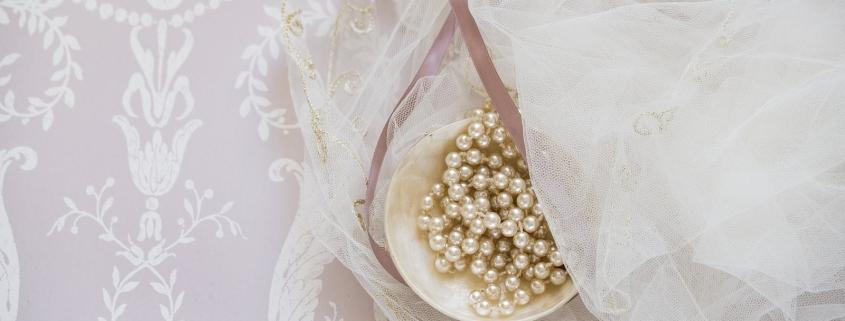 Esküvői gyöngy ékszer