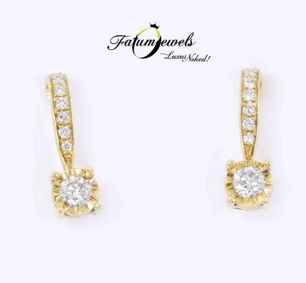 Fatumjewels gyémánt fülbevaló