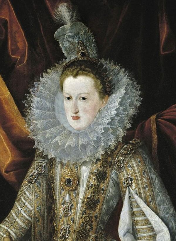 Ausztriai Margit az El Estanque kék gyémánttal