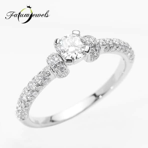 Fatumjewels eljegyzési gyűrű