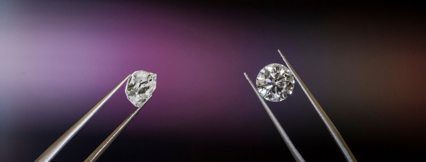Tűz a gyémántban briliáns gyémánt