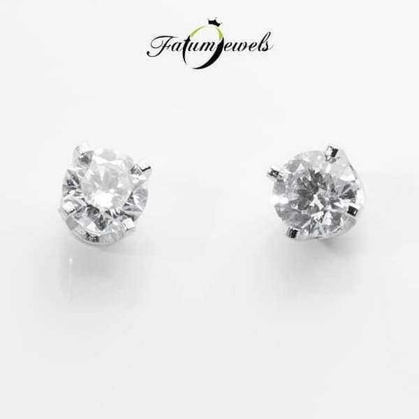 Briliáns gyémánt Fatumjewels gyémánt fülbevaló
